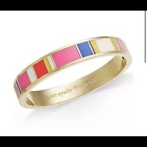 Kate Spade Multi color hinged bangle
